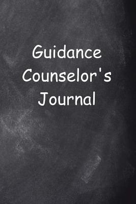 Guidance Counselor's Journal Chalkboard Design
