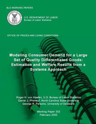 Modeling Consumer Demand for a Large Set of Quality Differentiated Goods
