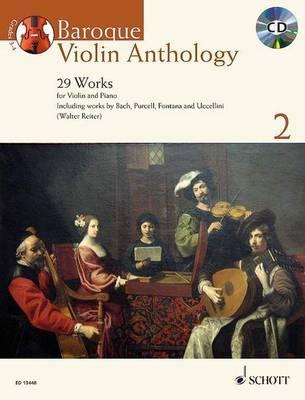 Baroque violin anthology volume 2 (29 pièces) +CD --- Violon / Piano