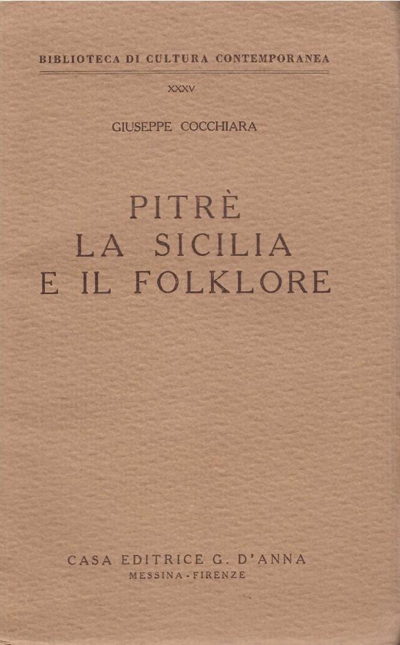 Pitrè, la Sicilia e il folklore