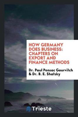 How Germany Does Business