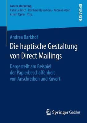 Die Haptische Gestaltung Von Direct Mailings
