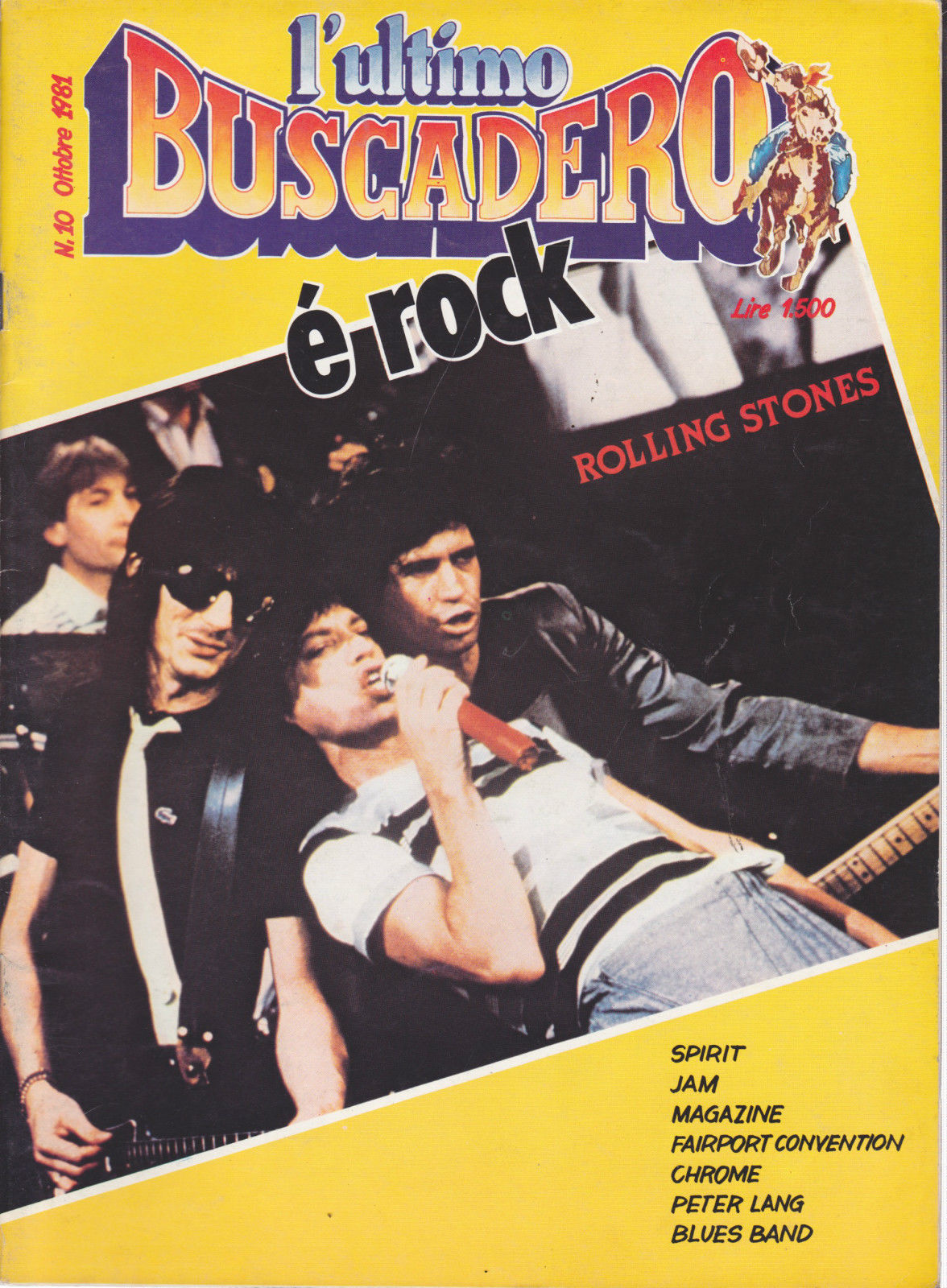 L'ultimo Buscadero n. 10 (ottobre 1981)