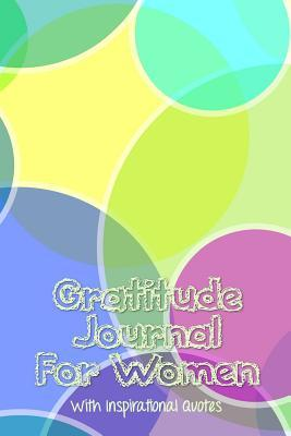 Multi-colored Pastel Bubbles Gratitude Journal for Women With Inspirational Quotes