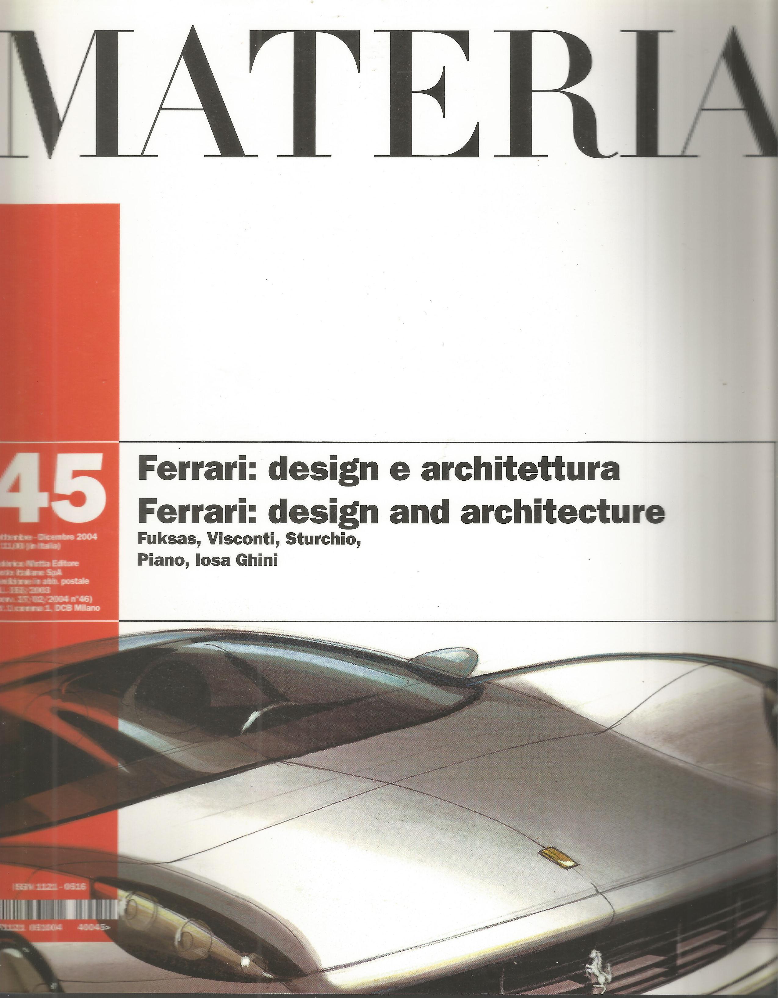 Materia, n. 45 (settembre - dicembre 2004)