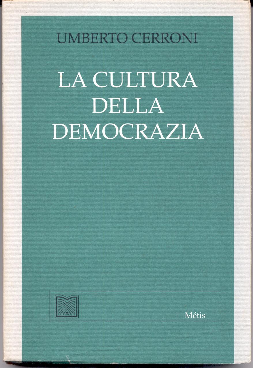 La cultura della dem...