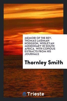 Memoir of the Rev. T...
