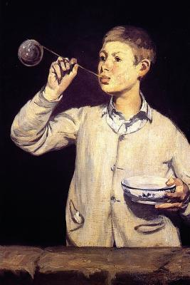 Boy Blowing Bubbles by Edouard Manet - 1869 Journal