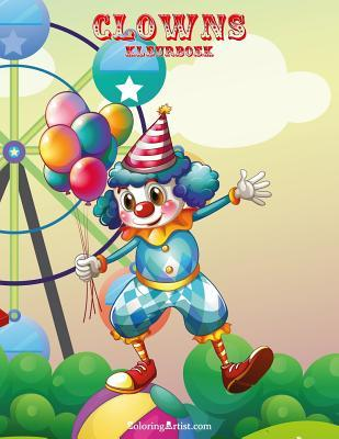 Clowns Kleurboek
