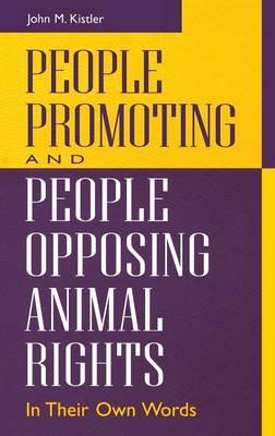 People Promoting and People Opposing Animal Rights