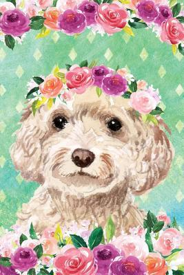 Journal Notebook For Dog Lovers Cockapoo In Flowers 2