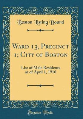 Ward 13, Precinct 1;...