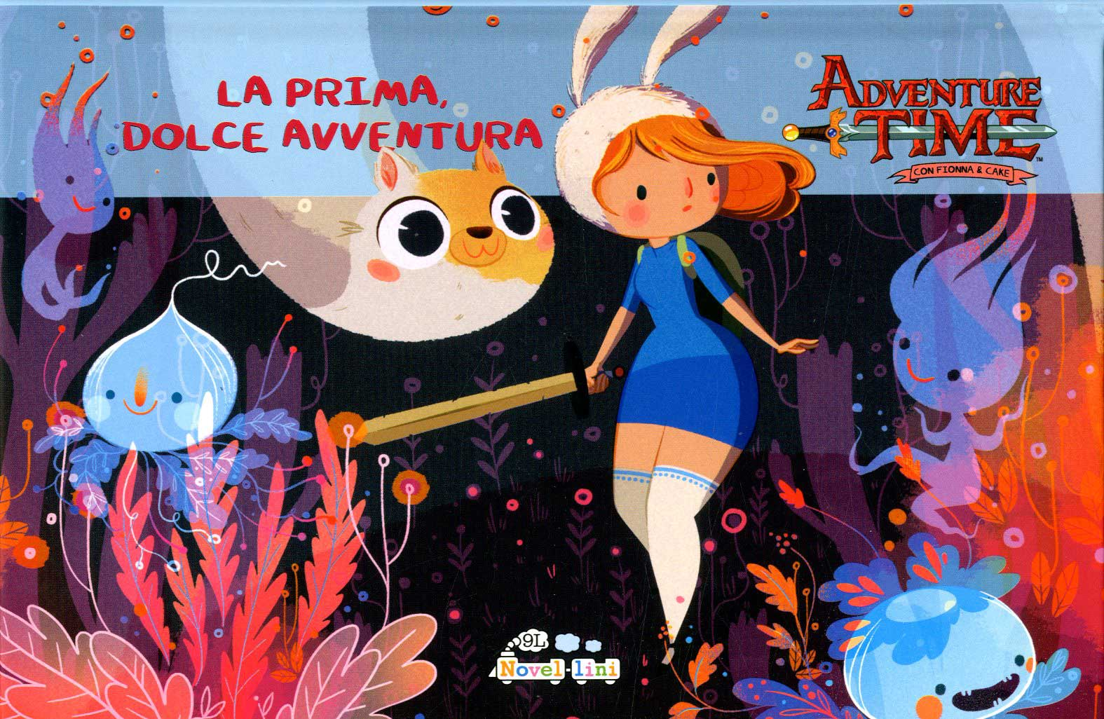 Adventure Time con Fionna & Cake