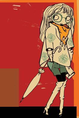 Hipster Flower Girl Any Day Planner Notebook