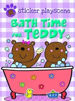 Bath Time For Teddy (Teddy Sticker Activity)