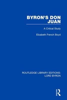 Byron's Don Juan