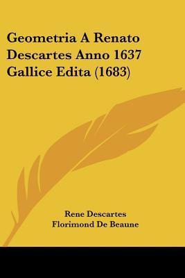 Geometria a Renato Descartes Anno 1637 Gallice Edita (1683)