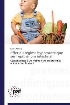 Effet du Regime Hyperproteique Sur l'Epithelium Intestinal