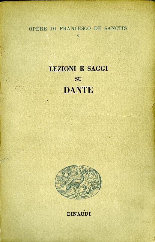 Lezioni e saggi su Dante