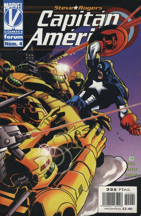 Capitán América Vol.3 #4 (de 11)