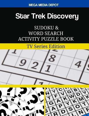 Star Trek Discovery Sudoku and Word Search Activity Puzzle Book