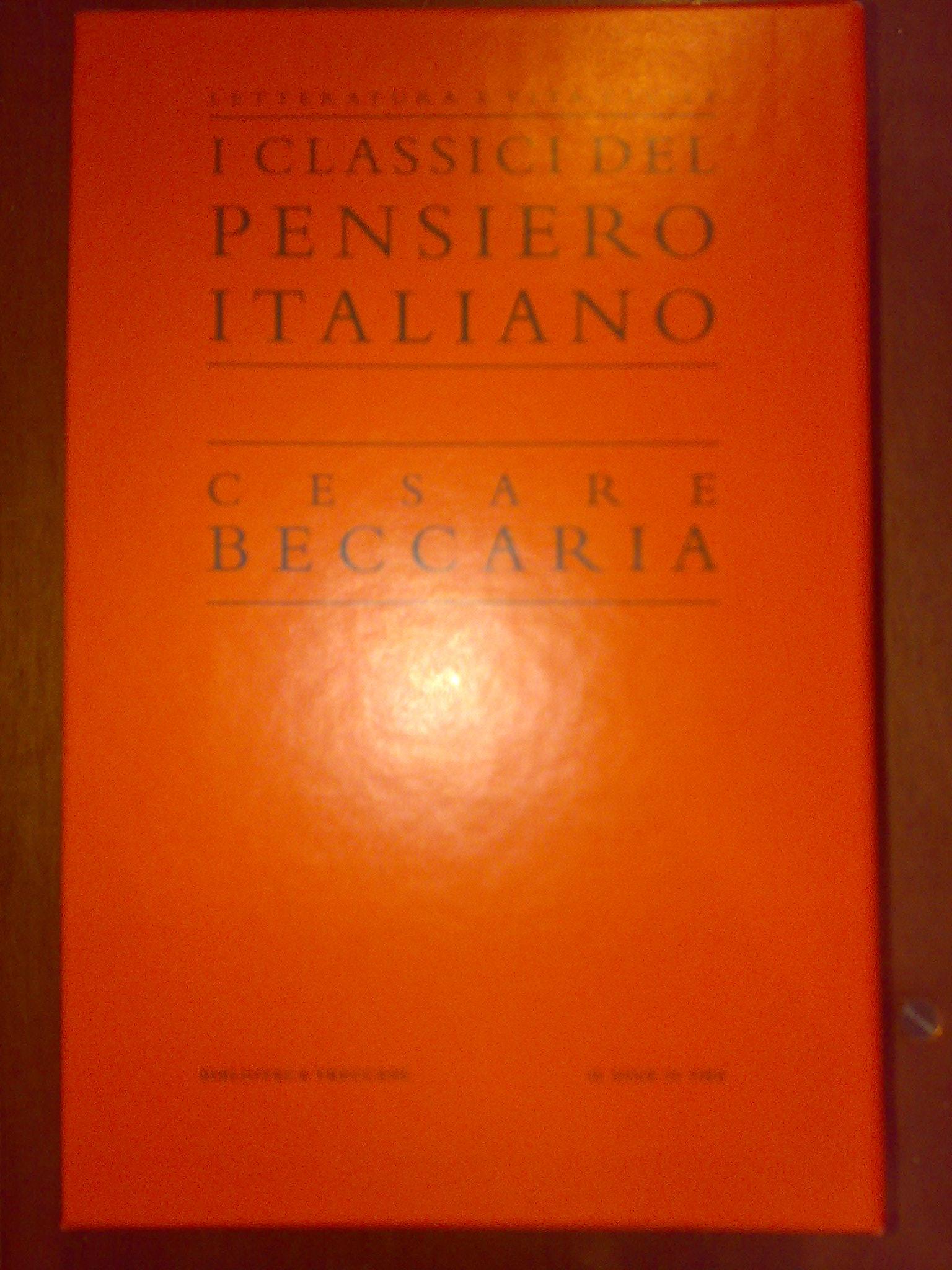 Cesare Beccaria e ri...