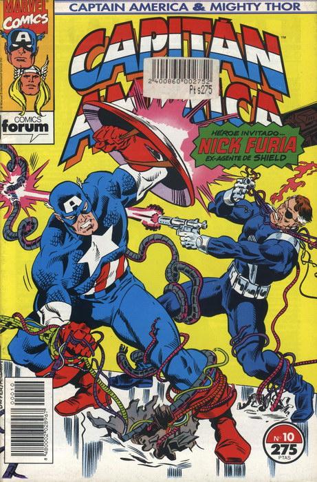 Capitán América y Thor el poderoso Vol.2 #10 (de 13)