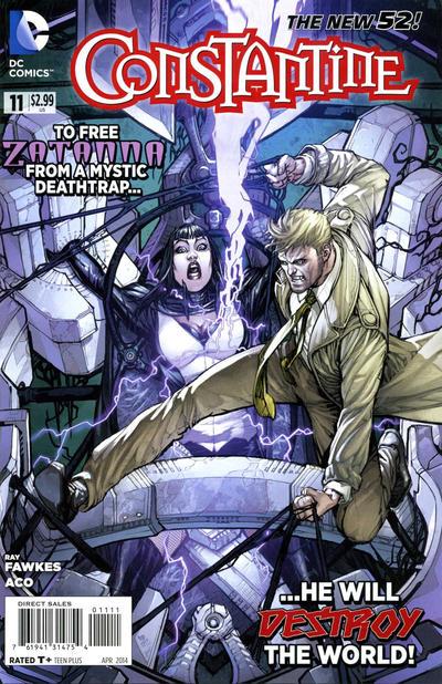 Constantine Vol.1 #11