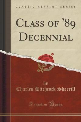 Class of '89 Decenni...