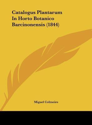 Catalogus Plantarum ...