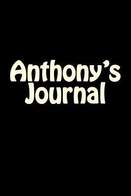 Anthony's Blank Journal