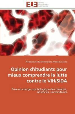 Opinion d'Étudiants pour Mieux Comprendre la Lutte Contre le Vih/Sida