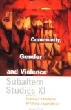 Community, Gender and Violence: XI