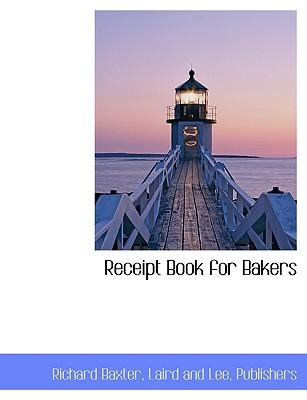 Receipt Book for Bakers