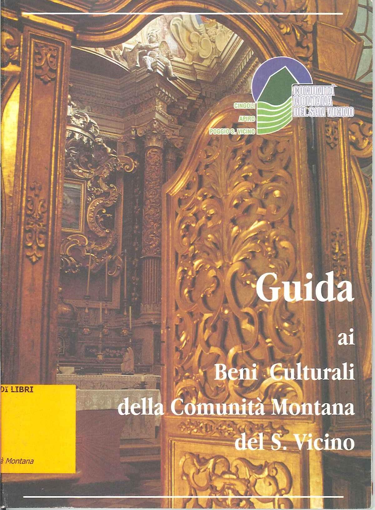 Guida ai Beni Culturali della Comunità Montana del S. Vicino