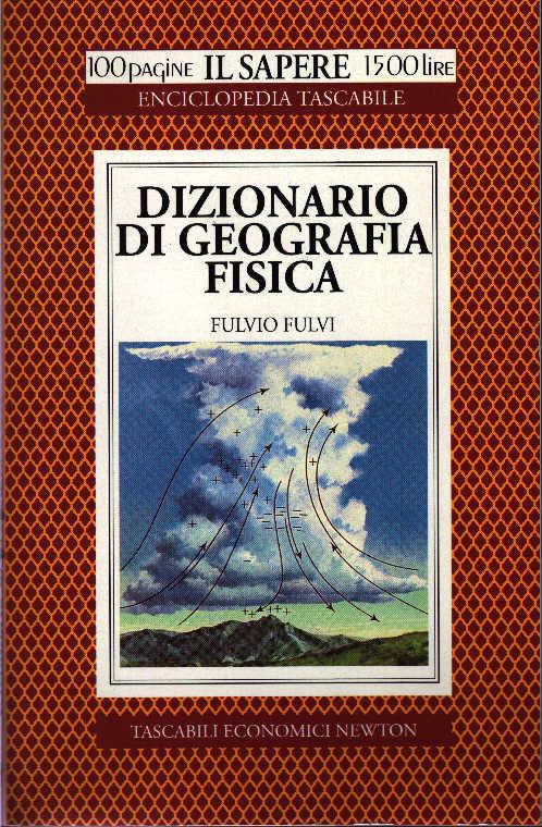 Dizionario di geografia fisica