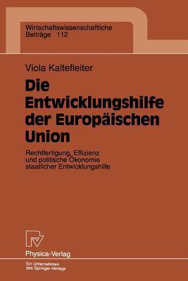Die Entwicklungshilfe Der Europäischen Union