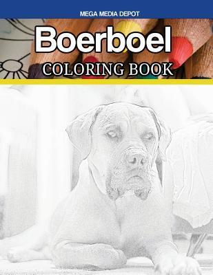 Boerboel Coloring Book