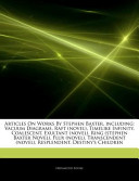 Articles on Works by Stephen Baxter, Including