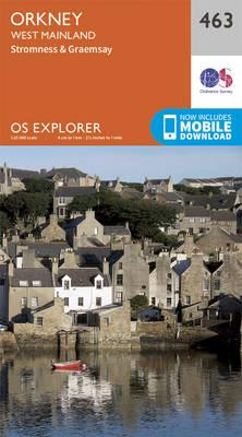 OS Explorer Map (463) Orkney - West Mainland