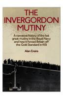 The Invergordon Mutiny