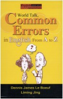 World Talk, Common Errors in English From A to Z