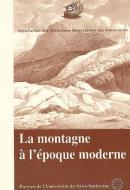 La montagne à l'époque moderne