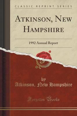 Atkinson, New Hampsh...