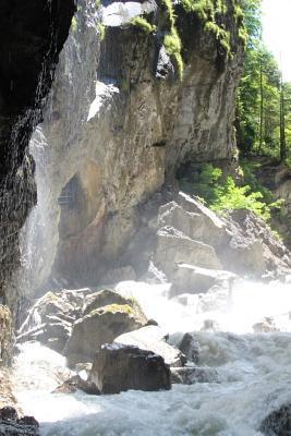 Partnachklamm River ...