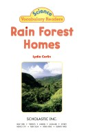 Rain forest homes