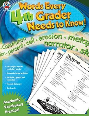 Words Every 4th Grader Needs to Know!