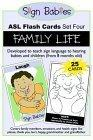 Sign Babies ASL Flash Cards, Set Four
