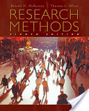 e-Study Guide for: Research Methods by Donald H. McBurney, ISBN 9780495602194