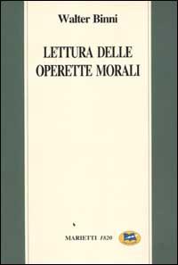 Lettura delle Operette morali